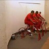 Prison inmates produce Green Energy through Cycling!