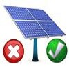 advantages and dissadvantages of solar pv
