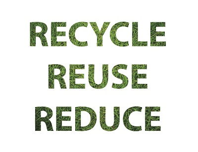 Recycle Reuse Reduce The 3rs Virtuous Circle Green
