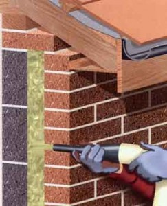 materials for cavity wall insulation