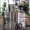 Pedal Power powers mobile Coffee Machine